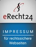 E-Recht24 Impressum Siegel